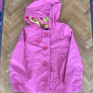 Girl's Gap Kids Rain Jacket XS